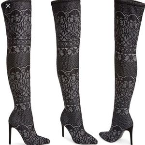 NWT Steve Madden Tiffy Over the Knee Boots Sz 7